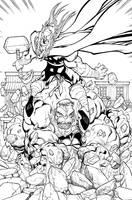 Avengers Season one. p. 65 by WaldenWong