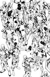 Deadpools by WaldenWong