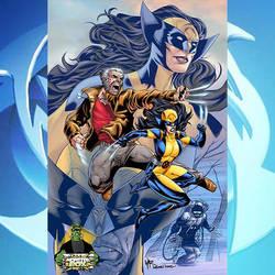 Wolverine Old Man Logan X-23 Weapon X by WaldenWong
