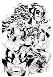 Wolverine Weapon X Old Man Logan X-23 by WaldenWong