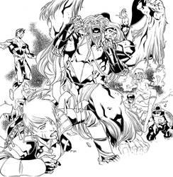 Amazing X-Men by WaldenWong
