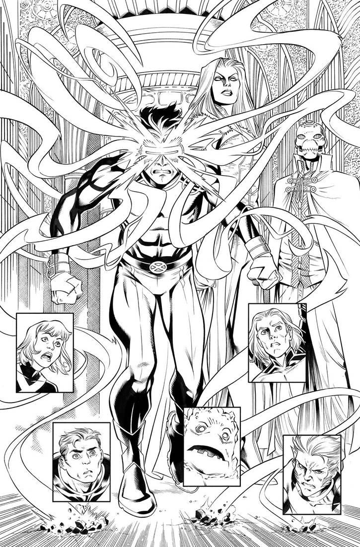 X-Men Blue by WaldenWong
