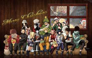 Konoha - Merry Christmas by crz4all