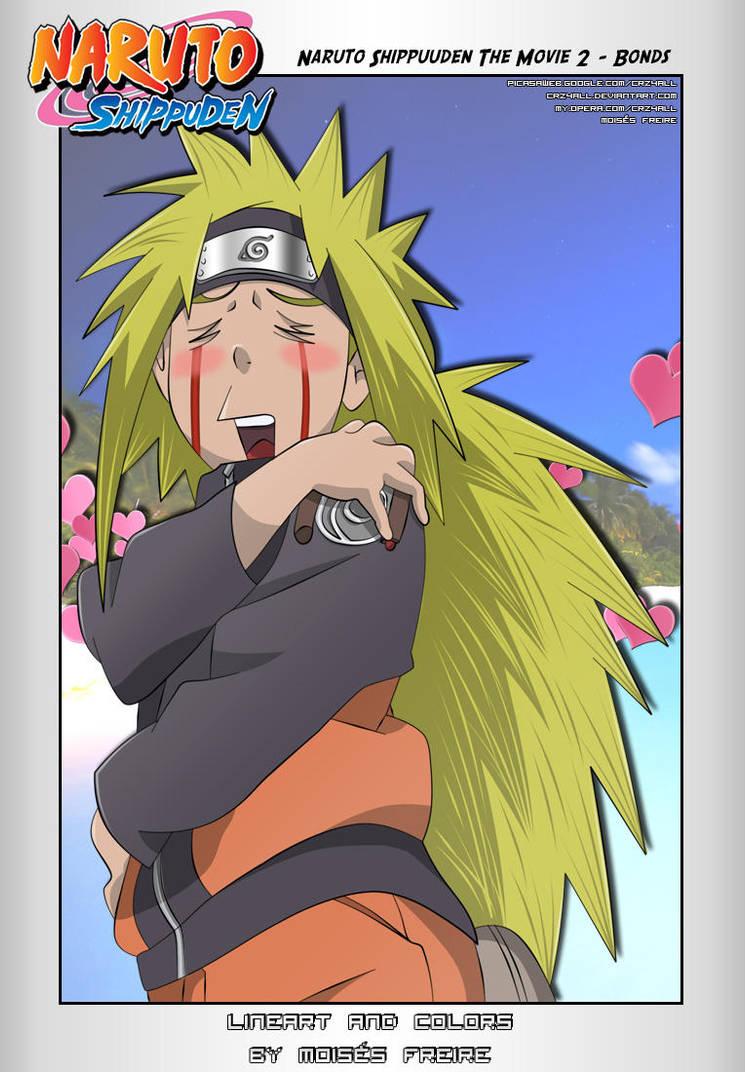 Naruto Jiraiya Style - Colors by crz4all