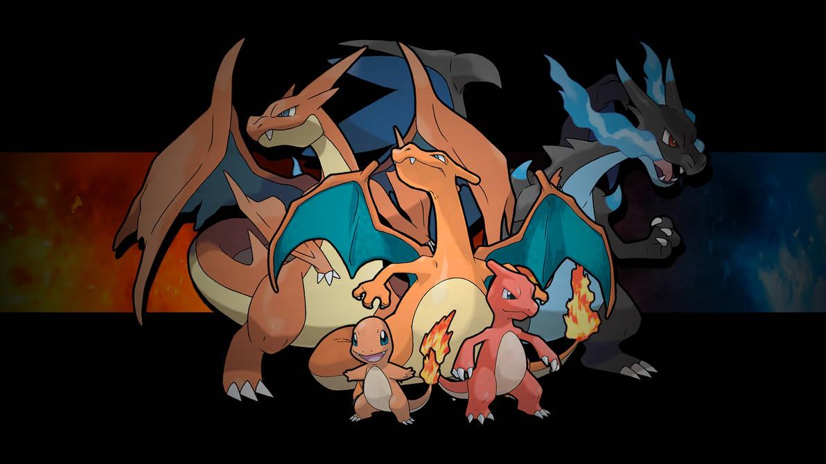 Pokemon - Charmander Family by crz4all