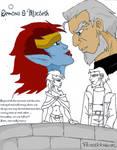 demona and macbeth by Peaceblossom262