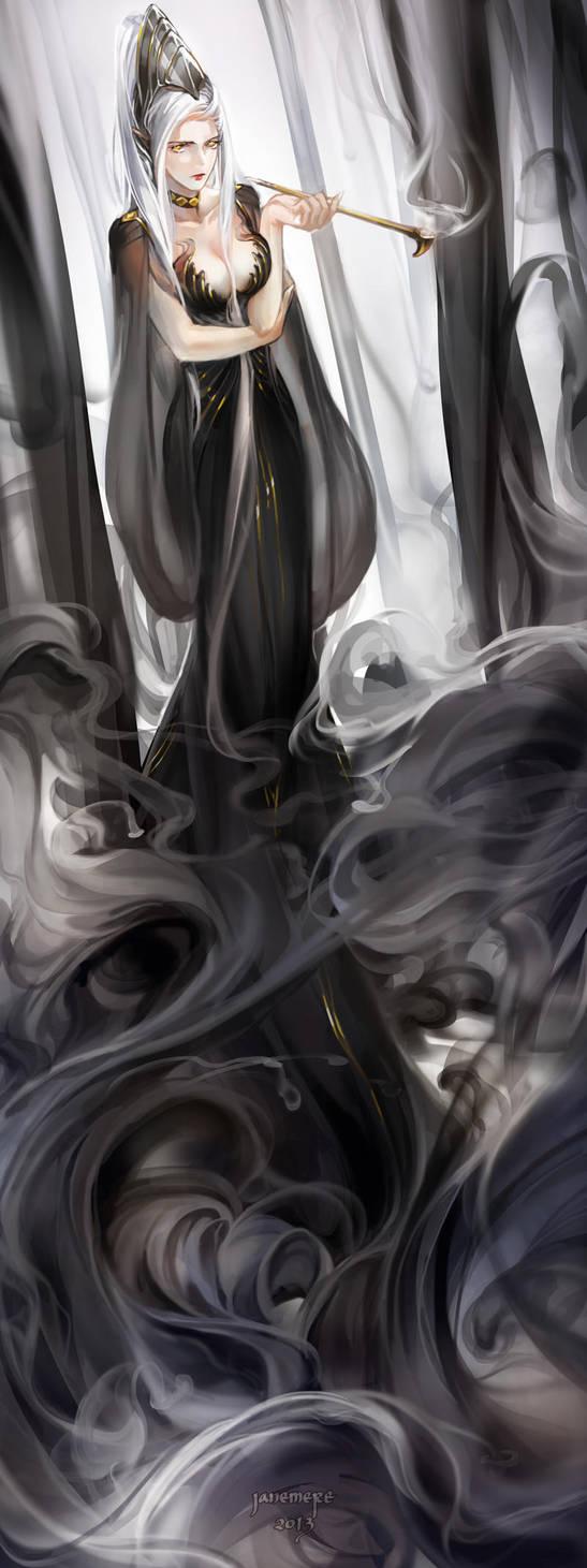 Lady of smoke by JaneMere