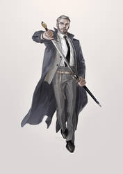 Swordsman by JaneMere