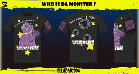 Who is Da Monster by elladan2004