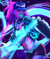 K/DA - POP/STARS Akali by jiranun1
