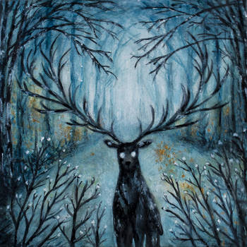 Deer - 2015 by MarsMellon