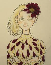 Flowergirl by MarsMellon