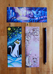 Bookmarks for sale by MarsMellon