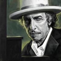 Bob Dylan by carts