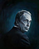 Michael Bloomberg by carts