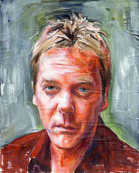 Kiefer Sutherland by carts