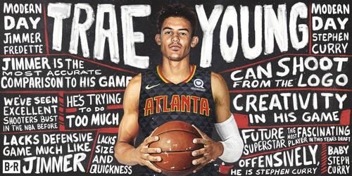 Trae Young - Atlanta Hawks by carts