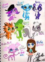 Littlest Pet Shop 2012 by LizDraws