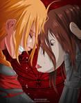 Edward Elric-Fullmetal Alchemist by ahmedxadel