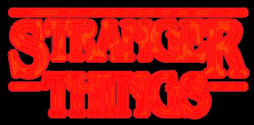 Stranger Things Logo PNG by BeAware8