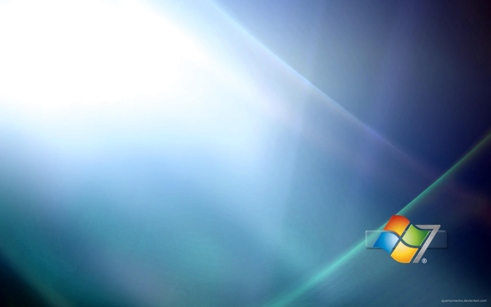 Windows 7 Widescreen Wallpaper by QuantumEcho