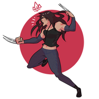 Annual  X-23 by KingKaijuice