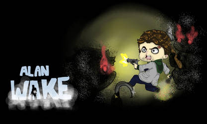 ALAN WAKE by emmyg917