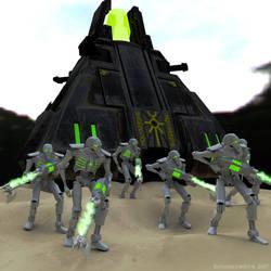 Deathless Squad by rohancorwyn