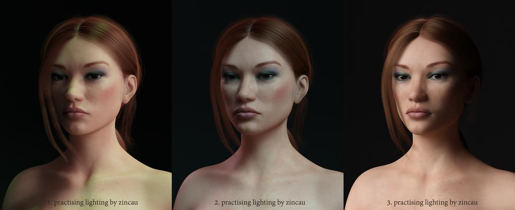 Practising Lighting 1 by Zincau