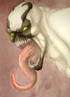 [Marvel] Anti-Venom doodle by Men-dont-scream