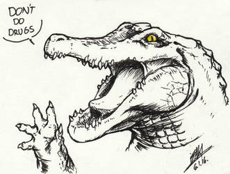 crocodile PSA by Men-dont-scream