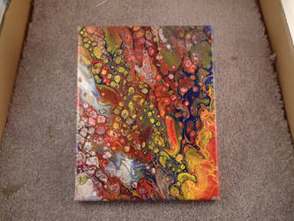 Fluid Acrylic Painting #3 by lokie999