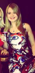 Blonde girl in foxy dress? by CaligirlMar420