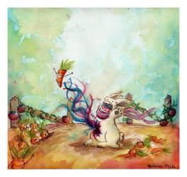 Rabbit by FernandaFrick