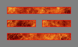 I Ching: Fire Trigram II by blackmage13