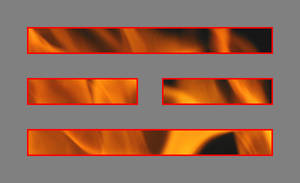 I Ching: Fire Trigram III by blackmage13