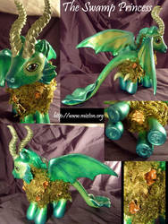 Swamp Princess - Collage by Cehualli