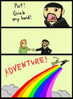 ADVENTURE with 2 best friends by Pakebel
