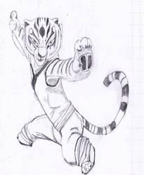 Tigress - sketch by Anki-Shai