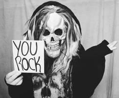 You rock. by theJokerSmiles