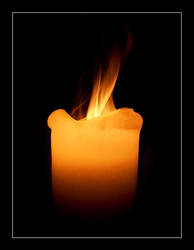 The Hot Candle by GoranDA