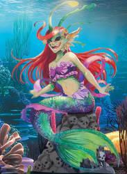 Deviant Disney's Ariel little mermaid by ikiyia