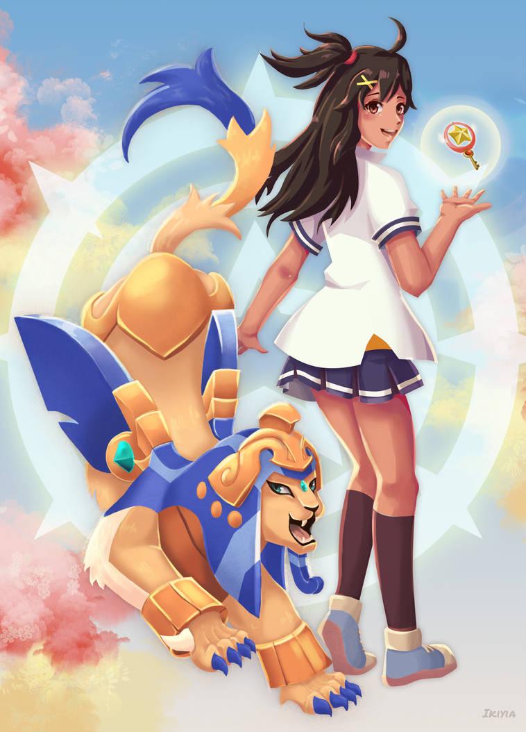Msl meets Sakura by ikiyia