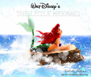 Walt Disney's Ariel the Little Mermaid by kimberleyjksn