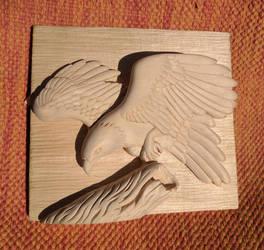 Wedge Tailed Eagle by Crimzen250