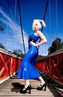 Blue fashionista by jennipenny