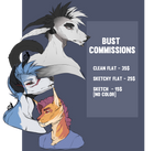 [Open] Bust Commissions. by Seyll