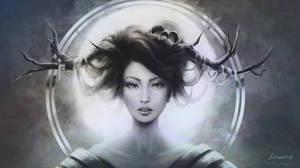 Druid's Aureole by LenamoArt