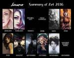 Lenamo - 2016 - Summary Of Art by LenamoArt