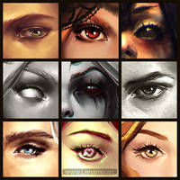 Eye meme! by LenamoArt